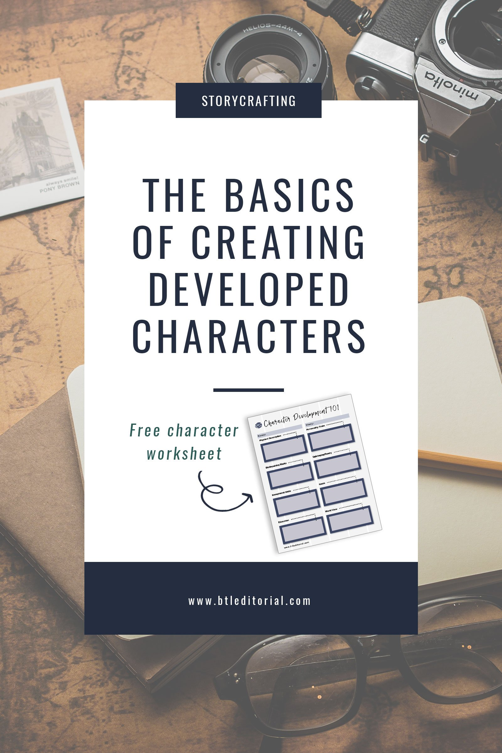 The Basics of Creating Developed Characters | Between the Lines Editorial