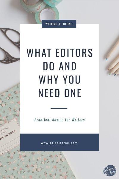 What Editors Actually Do and Why You Need One