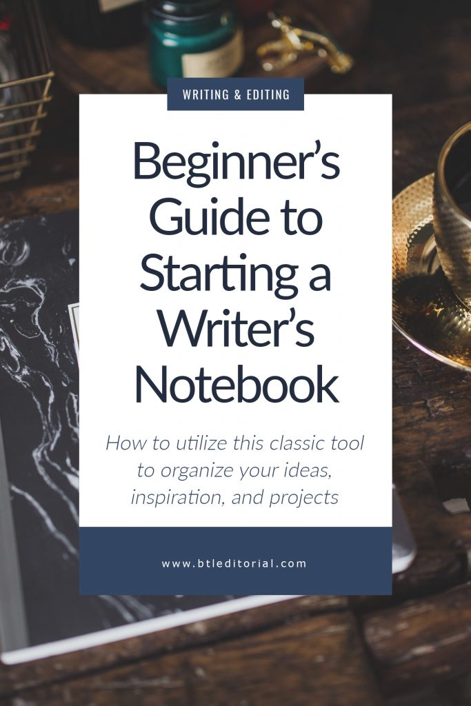 Every writer should keep a writer's notebook. This is the perfect place for inspiration, writing prompts, quotes, and ideas. #writingtip