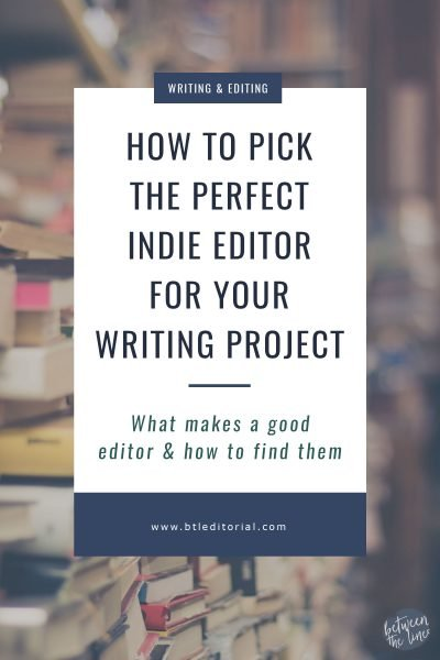 How to Pick the Perfect Indie Editor