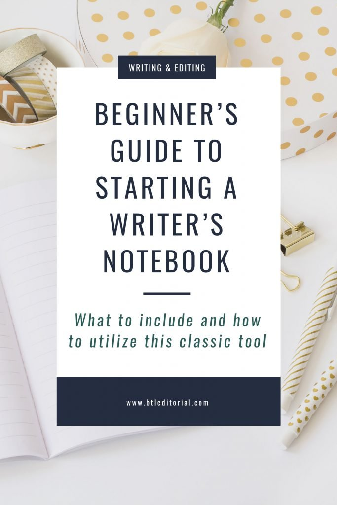 Beginner's Guide to Starting a Writer's Notebook