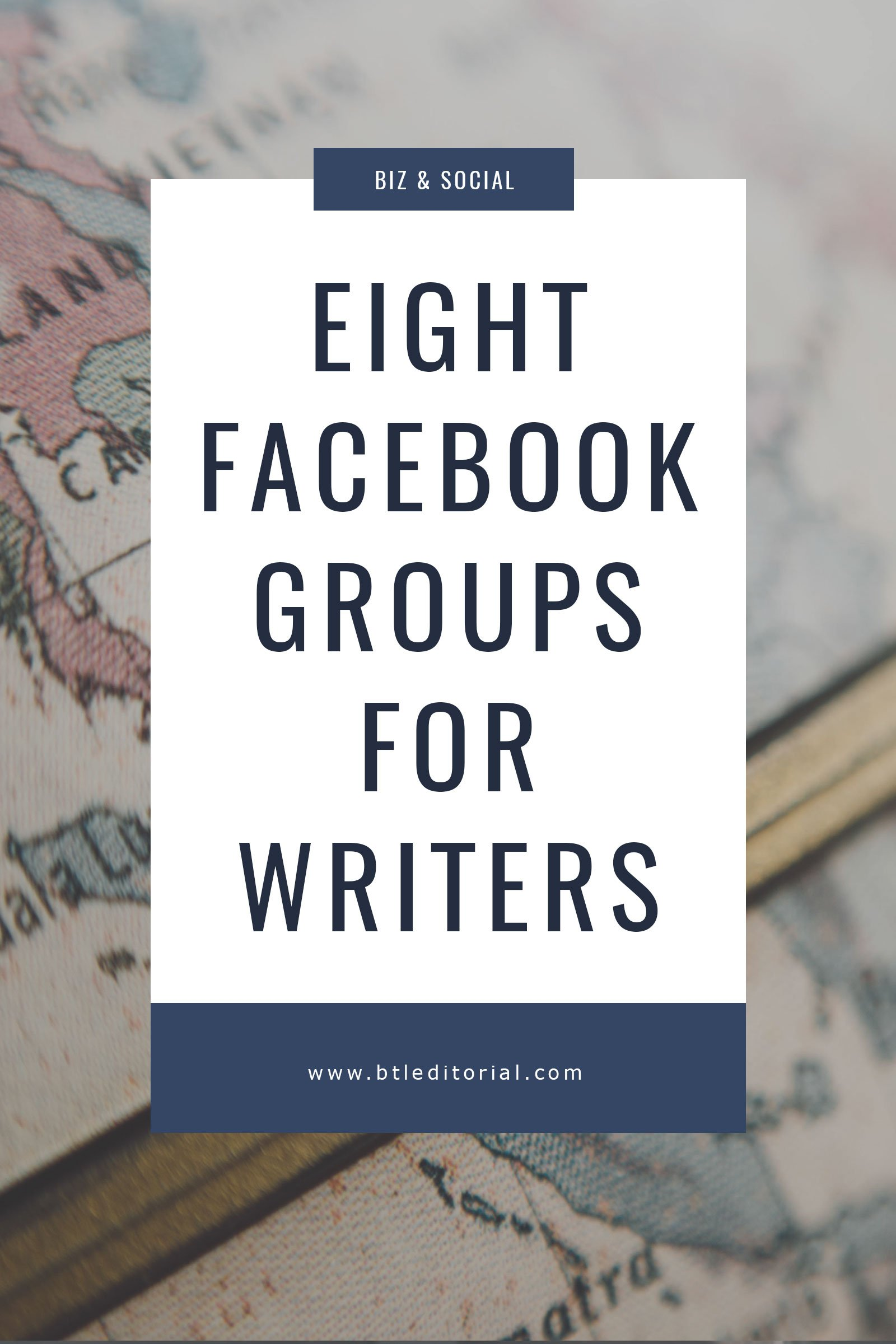 Social networking is important - check out these 8 FB groups for writers