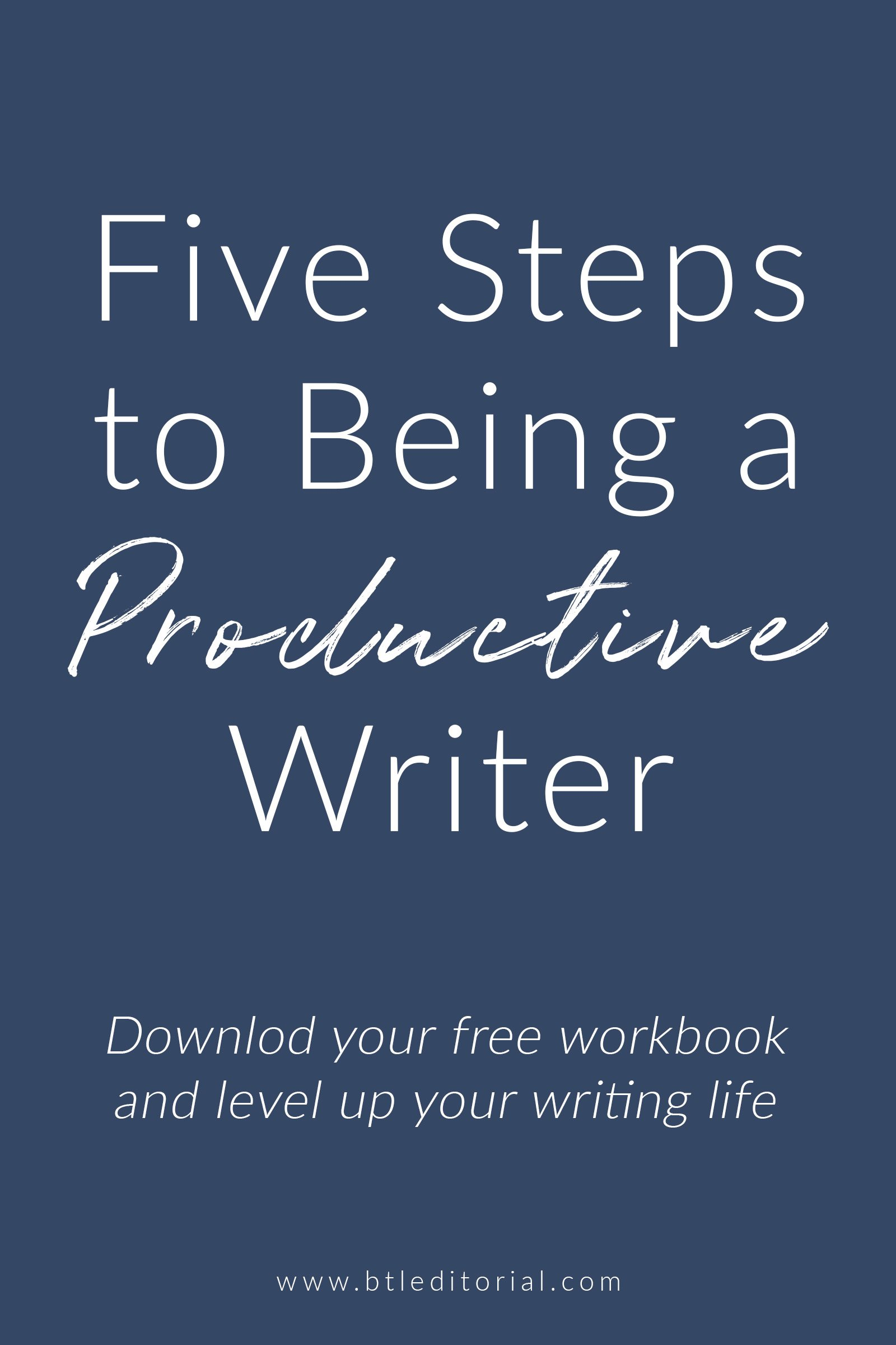 Are you ready to be a more productive writer? Download the free writing workbook to increase your productivity, manage your time, and conquer your writing goals.