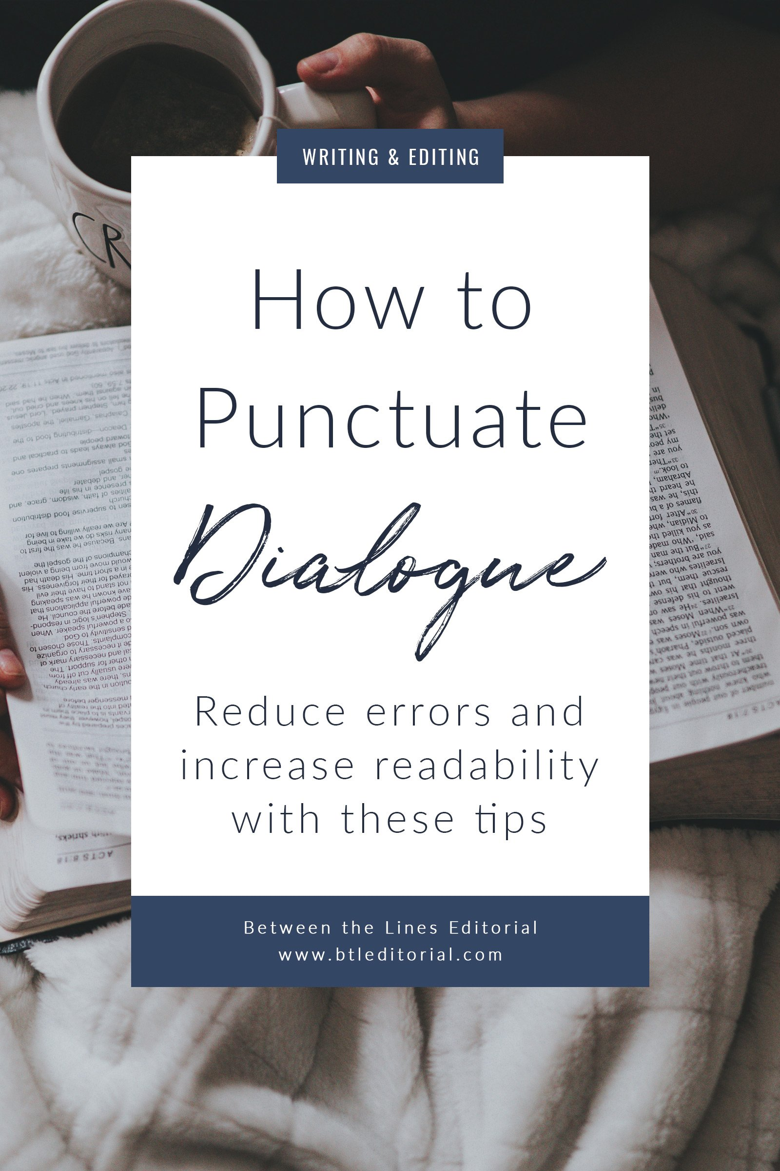 If you've ever struggled with punctuating dialogue on your #WIP, #novel, or #short story, pin these grammar tips for later.