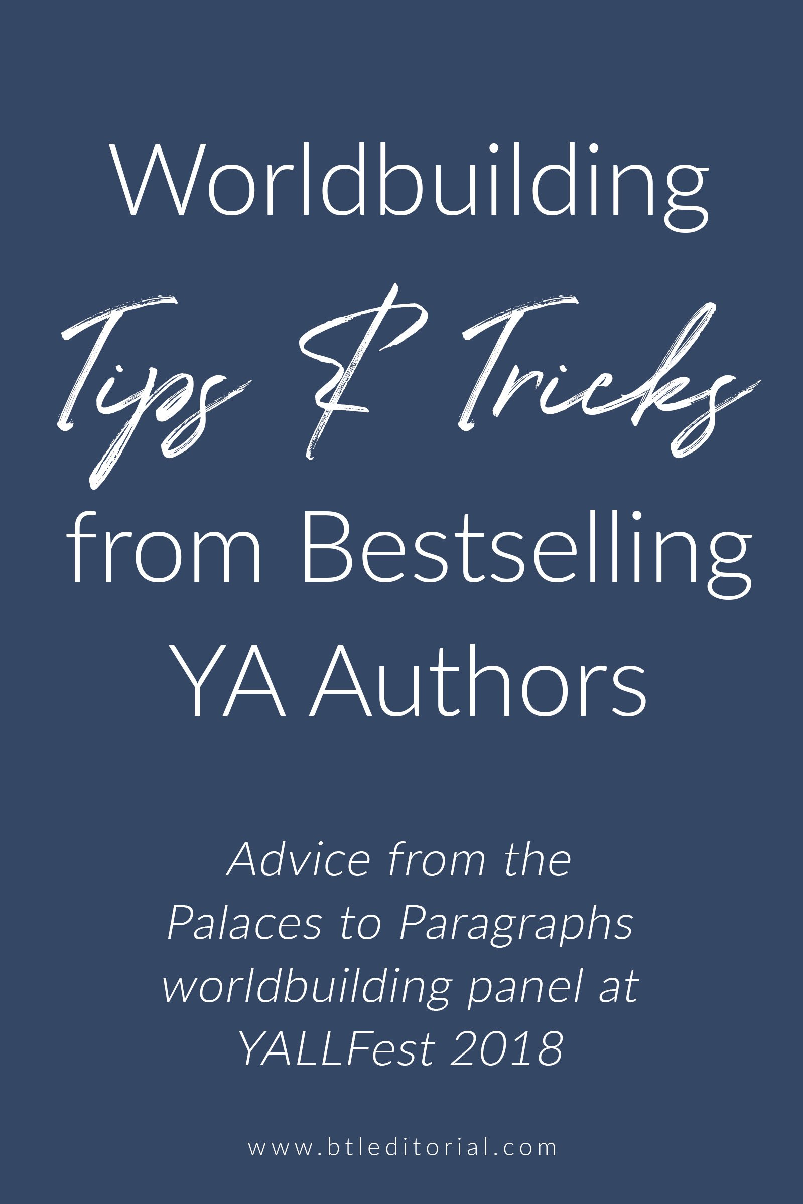 Palaces from Paragraphs: Lessons from the YA Worldbuilding Panel at YALLFest 2018 | How to create a fictional world; questions to ask yourself while worldbuilding; worldbuilding tips