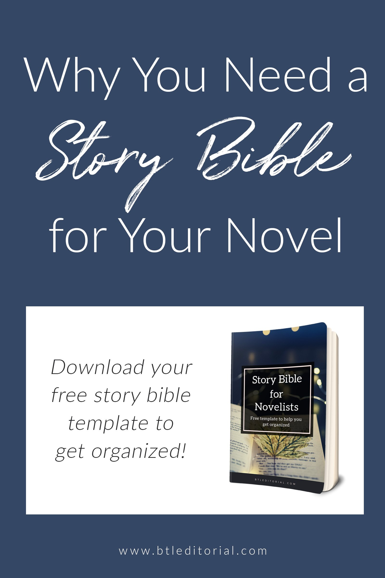 A story bible helps keep your thoughts, ideas, and major story points organized to make your writing process smoother | creative writing organization tips, productive writing, organized writer, story bible writing, writing, creative writing