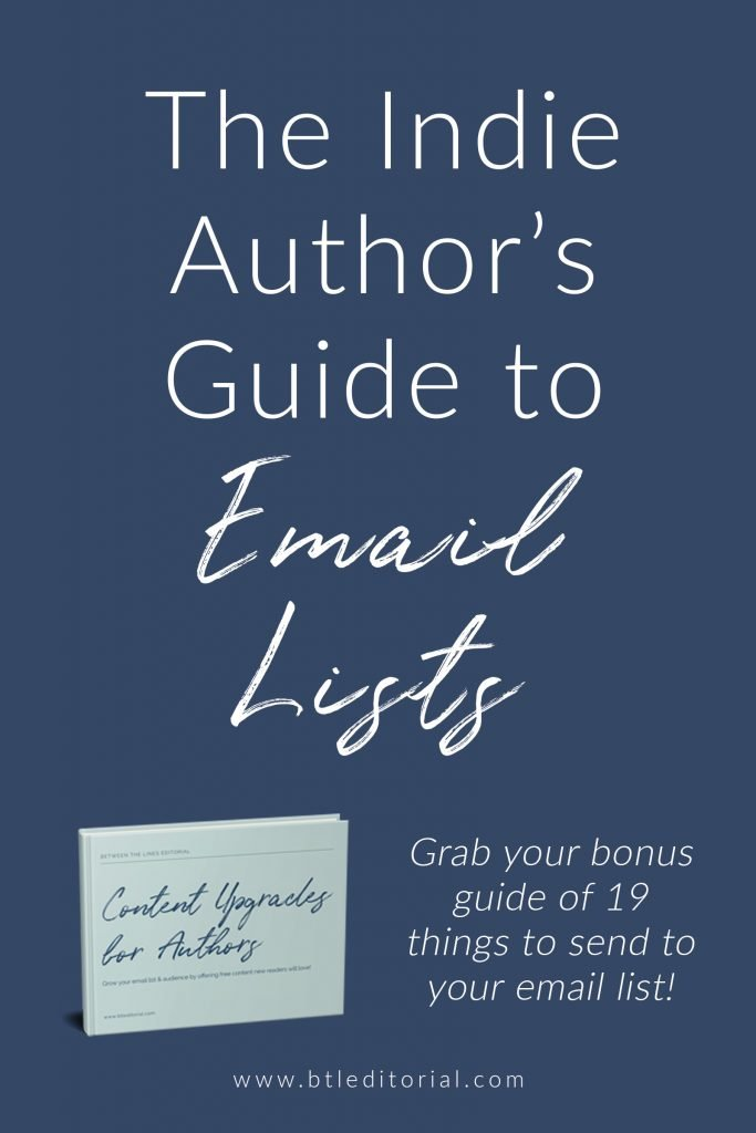 What are lead magnets to send to your email list if you're an author? Check out this post and grab your free list of 19 content upgrades for subscribers.
