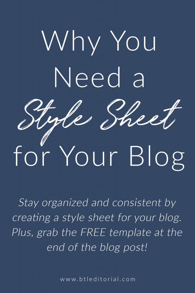 What is a style sheet and how do you build one for your blog Get your free style sheet template!
