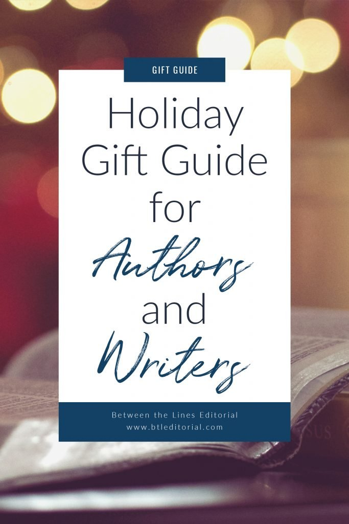 Need a gift for the #author or #writer in your life? Here are some ideas to fit every budget! | author gift, gift for writer, gifts for authors, gift for author, gift for writer, bookish gifts